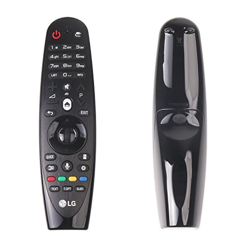 Original New LG AN-MR600 Remote SIKAI Replacement Genuine AN-MR600 Magic Remote Control with Voice Mate For LG 2015 Series Smart TV (Black Remote)