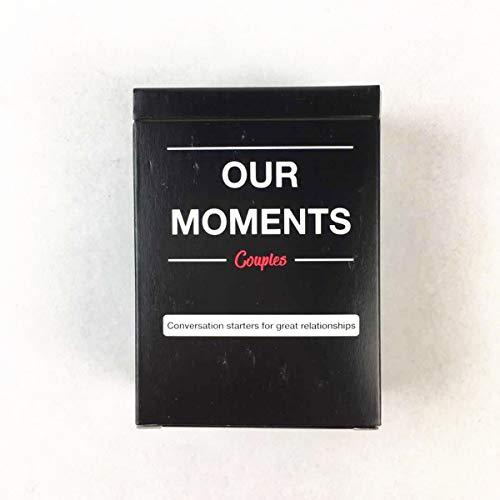 GXLO Nuestra Estrategia de Momentos. Juego de Cartas Jugando Tarjeta Divertido Divinación Juguetes Juego de Mesa Inglesa para Family Friend Party Entertainment