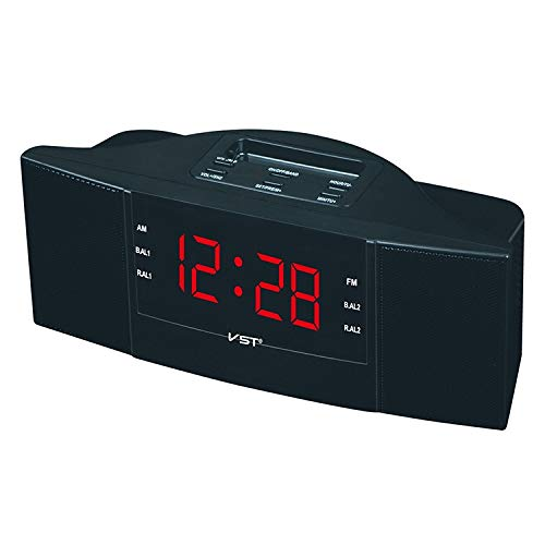 Sheep Radiowekker Nacht Clock Controlled Radio-LED klok AM/FM digitaal cadeau (Groen) Precise Timing