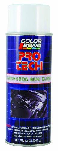 ColorBond (1432) Pro Tech Underhood Semi Gloss Black Engine Bay Paint...