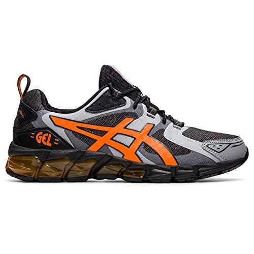ASICS Gel-Quantum 180 Sneaker för män, Grafit grå ringblomma orange - 45 EU