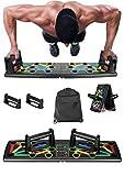 Clonic 14 in 1 Faltbare Push Up Rack Board mit Handgriff für Muskeltraining Effektiv...