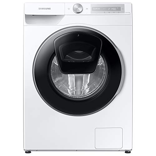 Samsung Series 6 WW90T684DLH/S1 with AddWash™ and Auto Dose Freestanding Washing Machine, 9 kg 1400 rpm, White, A Rated