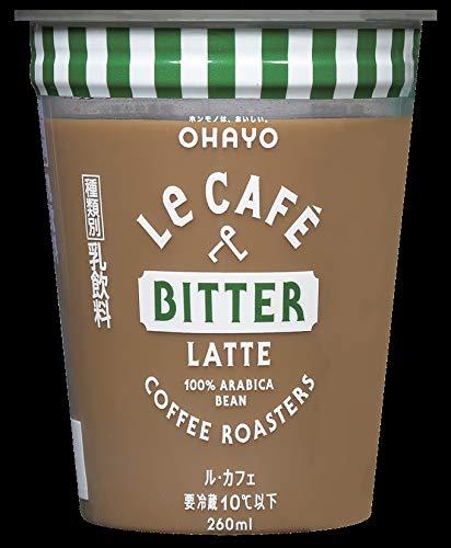 オハヨー乳業 LeCAFÉ BITTER LATTE (ル·カフェ ビターラテ)260mlX6本