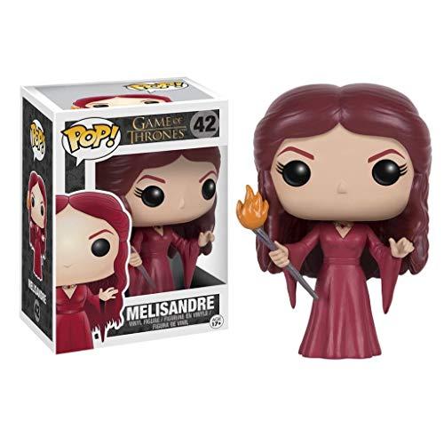 YYBB Pop TV: Juego de Tronos - Figura de acción de Melisandre en Caja Adornos Juego De Tronos Regalos Figura Coleccionable 3,9 Pulgadas Figurines