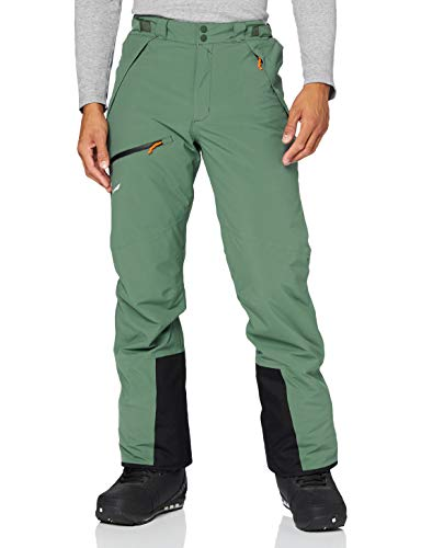 Salewa ANTELAO BELTOVO TWR M PNT, Pantalones de esquí, Hombre, 50 / L, duck green