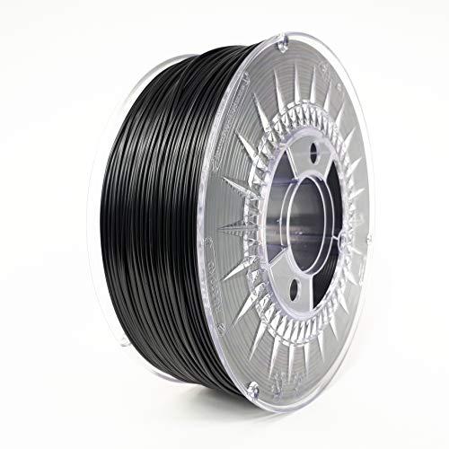 Devil Design ASA Black, 1.75mm, 1kg of quality filament made in Europe