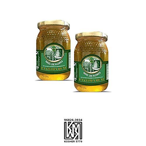 La Celda Real - 1kg - Miel Pack 2 tarros: Miel Mil Flores - Tarro de cristal - Aroma Floral y Sabor Rico y Dulce - 100{f2ee9186347da09b501eea4cb3c97cdc0c9725af320a8dda221a5a6cd0b8d7e9} Natural