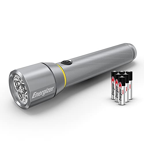Energizer LED Metal Flashlight, 1300 Lumens
