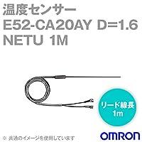 オムロン(OMRON) E52-CA20AY D=1.6 NETU 1M 温度センサ リード線直出形 (耐熱用) (保護管長 20cm φ1.6) NN