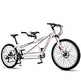 ZZKK Scenery Travel Doble Bicicleta del Montar Panorámica Panorámica de Bicicletas Bicicletas Pareja,24speed