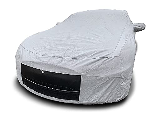 CarsCover Custom Fit Tesla Model S Car Cover Heavy Duty Weatherproof Ultrashield