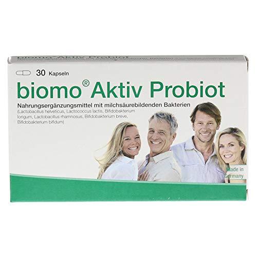 biomo Aktiv Probiot Kapseln, 30 St. Kapseln