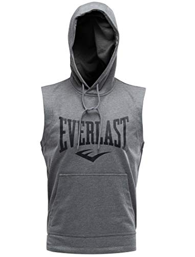 Everlast EVL Champion SW - Sudadera y forro polar para hombre, color gris, talla M
