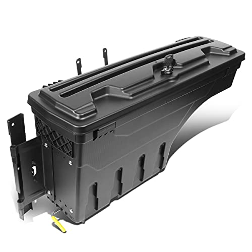 Driver Side Truck Bed Wheel Well Storage Case Tool Box Compatible with Ford...