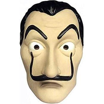 thematys La casa de Papel Máscara Carnaval y Halloween - Disfraz ...