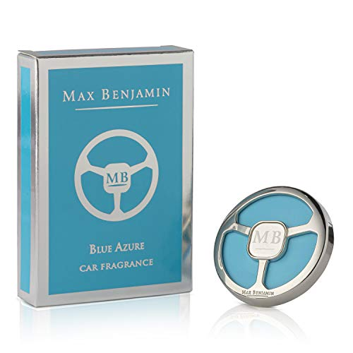 Max Benjamin Car Fragrance with Refill Blue Azure [A]