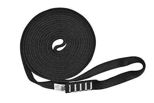 Desconocido Kong Aro Sling Tubular Anillo de Cinta, Negro, 60 cm