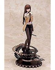 Steins Gate Makise Kurisu GK Lalka statyczna ozdoby statuetka 3D model anime figurki zabawka zapakowane wachlarze anime kolekcja dekoracja samochodu prezenty obudowa komputera dekoracja