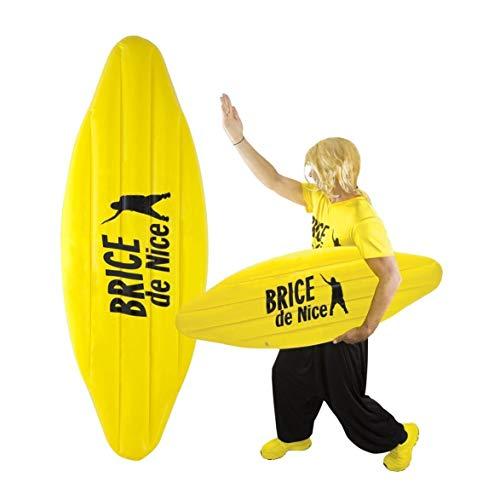 P'tit Clown- Planche de Surf Gonflable Brice de Nice, 84948, Jaune, Taille Unique