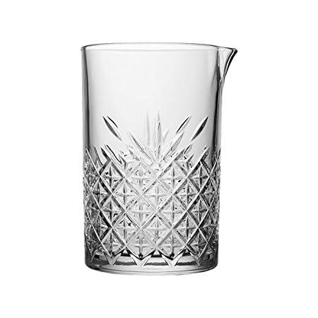 Pasabahce 52849 Krug Cocktail Krug Mixing Krug Timeless Im Kristall Design Höhe Ca 15 Cm 72 5 Cl Aus Glas Küche Haushalt