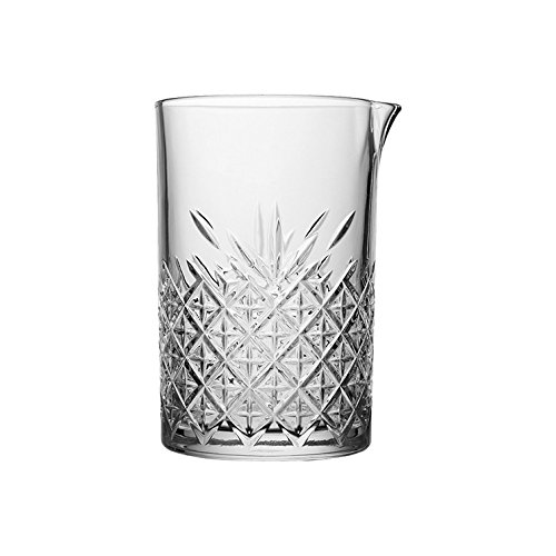 "Pasabahce 52849 Krug - Cocktail-Krug Mixing-Krug ""Timeless"" im Kristall-Design, Höhe ca. 15 cm, 72,5 cl, aus Glas"