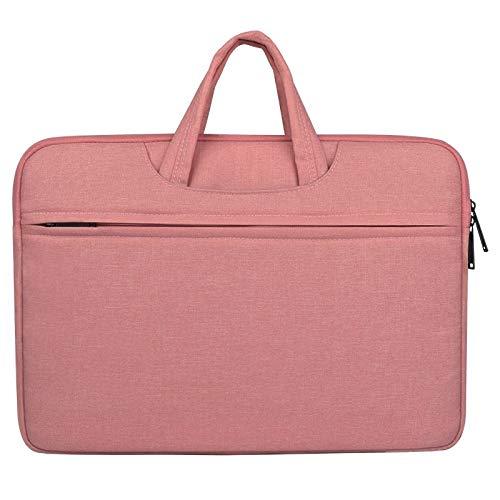 Borse per Notebook e Accessori Ctj Traspirante Resistente all Uso Spalla Portatile Zipper Laptop Bag for 12 Pollici e sotto MacBook, Samsung, Lenovo, Sony, dell Alienware, CHUWI, ASUS, HP (Nero)