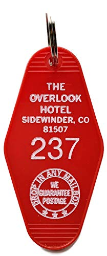 The Overlook Hotel Inspired Key Tag in Red and White Room # 237