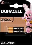 Duracell–Lote de 2Pilas Ultra AAAA–1.5V–Pilas alcalinas AAAA