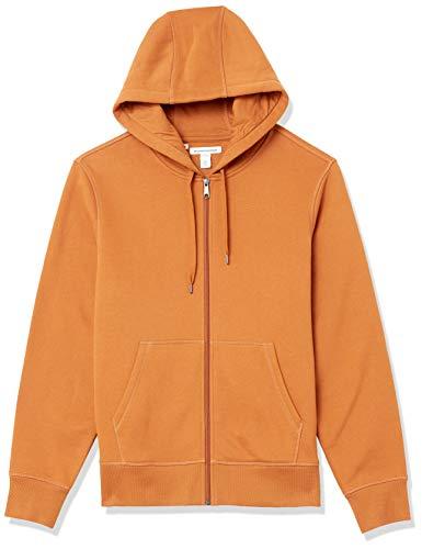 Amazon Essentials Big & Tall Full-Zip Hooded Fleece Sweatshirt Sudadera con Capucha, Nuez moscada, XXL