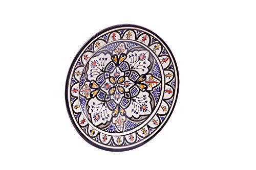 Biscottini - Plato de cerámica Decorado a Mano