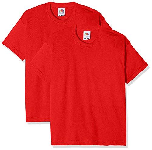 Fruit of the Loom Camiseta (Pack de 2) para Niños