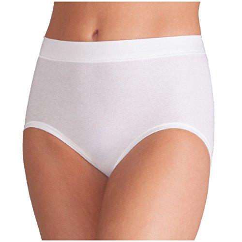 ESGE Damen Taillenslip 5er Pack Größe 40-42, Farbe weiß