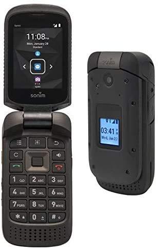 Sonim XP3 4G LTE 8GB Rugged Flip Phone AT&T GSM Unlocked (Black) (Renewed)