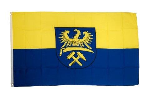 Fahne / Flagge Oberschlesien + gratis Sticker, Flaggenfritze®