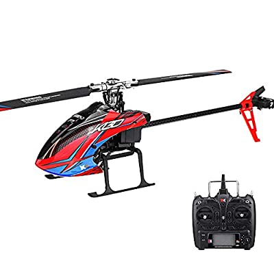 Ocamo XK K130 2.4G 6CH Brushless 3D6G System Flybarless RC Helicopter Compatible with FUTABA S-FHSS from