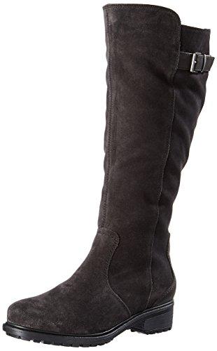 ara Damen Kurzschaft Stiefel Stiefel Kansas-St, Braun (Lava,Moro), Gr. 37 (UK 4)