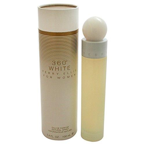 Perry Ellis 360 White By Perry Ellis For Women. Eau De Parfum Spray 3.4 Ounces