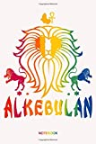African Lion Rbg Ankh Kemetic Rainbow Color Notebook: Notebook Planner, Daily Planner Journal, To Do List Notebook, Daily Organizer