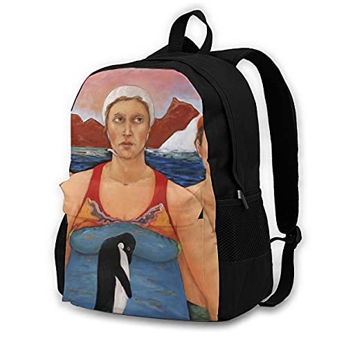huobeibei Comics Backpacks Business Tourist Breathable Backpack Streetwear Polyester Bags 17Inches 2