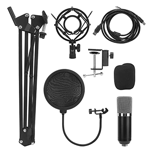 Kondensatormikrofon-Kit USB-Computer-Kondensator-PC-Gaming-Mikrofon Kondensator-Kondensatormikrofon mit Nierencharakteristik 20Hz-20KHz