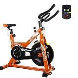 Shocly Bicicleta De Spinning Bicicleta Fitness Plegable Spinning Profesional Resistencia...