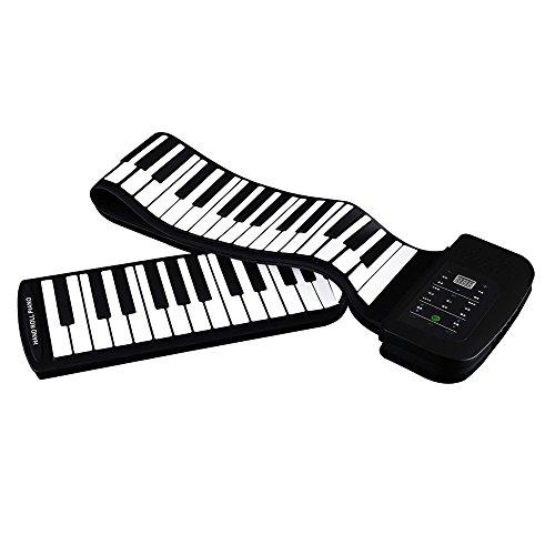 gleading Piano digital Roulant 88teclas Silicon para principiantes y niños