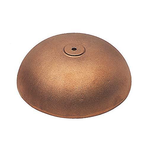 Bronzeguss Glocke, entgratet, sandgestrahlt und gebohrt, sehr Reiner Klang (Durchmesser 90 mm)