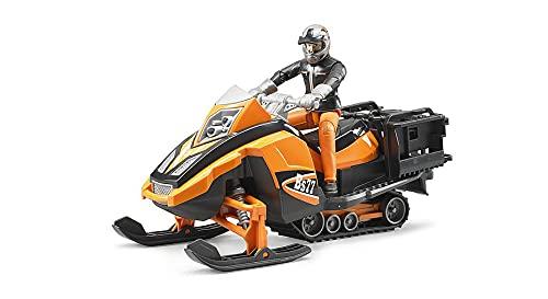 Bruder 63101 - Snowmobil mit Fahrer und...