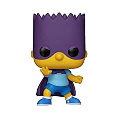 Color: Multicolor Stylized collectable stands 3 ¾ inches tall, perfect for any Simpsons fan Collect and display all Simpsons POP Vinyl's Made in China