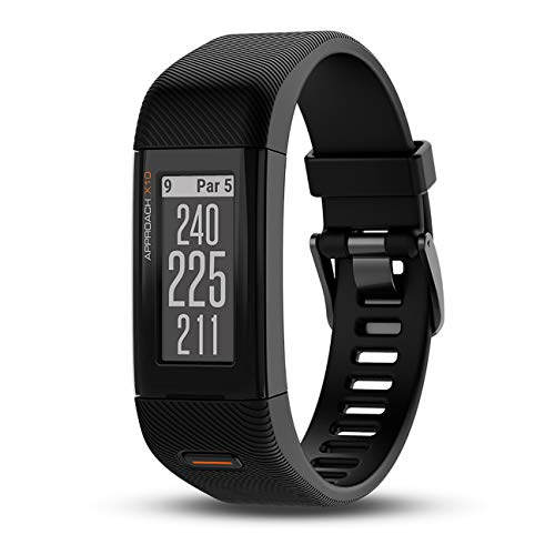 Pulsera Reloj Garmin Extragrande Approach X10 GPS Golf, Pantalla de 1, 0.03, Color Matte Black