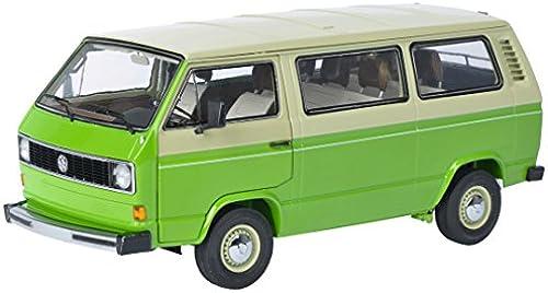 Schuco 450038000 -  VW T3 Bus Fahrzeug, 1 18, beige Grün