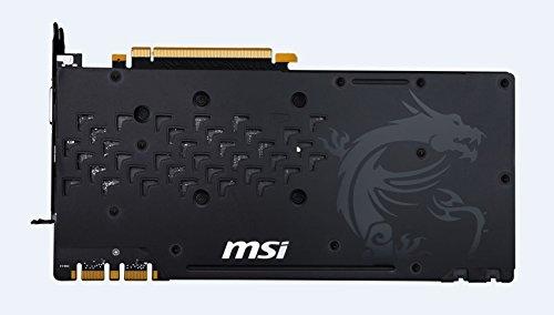 MSI GeForce GTX 1080 GAMING X 8G Scheda Grafica PCIe 3.0, 8 GB, GDDR5X, Frequenza 256bit
