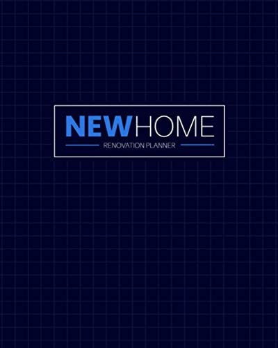 New Home Renovation Planner For Home Improvements DIY Projects 6 Custom Pages For Each Room product image